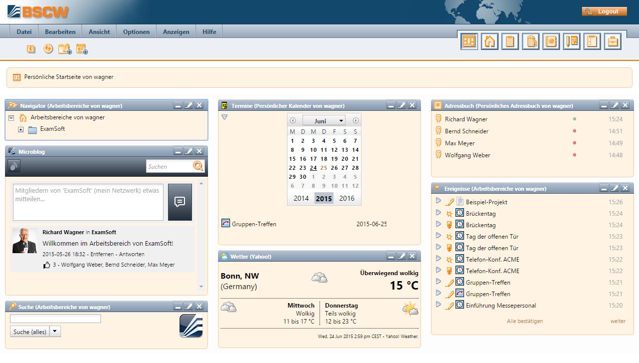 BSCW Portal